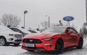 Pierwszy w Polsce nowy Mustang trafił do Gdyni