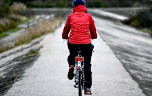 5 km drogi rowerowej na wale Wisły