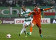 Zagłębie Lubin - Lechia Gdańsk 0:0. Punkt, ale bez gola na jubileusz biało-zielonych w ekstraklasie