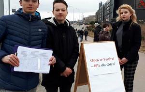Mieszkańcy Gdyni chcą tańszych biletów na festiwal Open'er