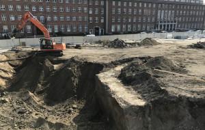 Archeologiczne odkrycie na terenie budowy wiaduktu Biskupia Górka