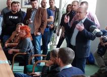 Burzliwe spotkanie kierowców z szefostwem gdańskiego przewoźnika GAiT