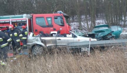 Zatrzymano ukrywajacego się sprawcę wypadku