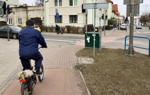 Al. Grunwaldzka między Wrzeszczem i Sopotem mało rowerowa