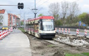 Sześć dni bez tramwaju na Stogi i Przeróbkę