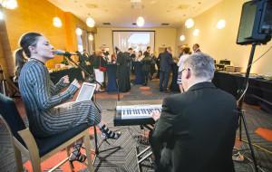 Otwarcie restauracji Nowosopockiej w artystycznej oprawie