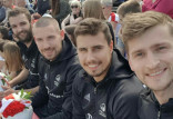 Siatkarze Trefla Gdańsk w Alei Gwiazd. Andrea Anastasi zadebiutował w reprezentacji Belgii