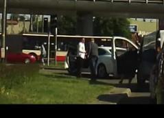 Kierowcy pobili się na skrzyżowaniu we Wrzeszczu