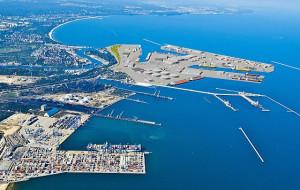 Port Centralny w fazie projektu