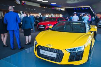 Oficjalne otwarcie sportowego działu Audi