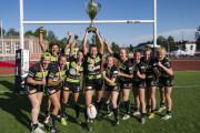 Biało-Zielone Ladies Gdańsk po raz ósmy z rzędu mistrzyniami Polski w rugby