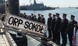 Okręt ORP 'Sokół' zakończył służbę