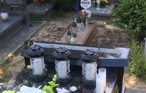 Okradli nagrobek na Cmentarzu Łostowickim