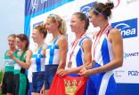 Gdańscy wioślarze zdobyli siedem medali w mistrzostwach Polski