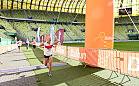 Biegacze finiszowali na stadionie