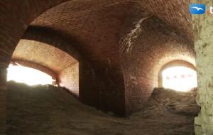 Zwiedziliśmy kazamaty Bastionu Wiebego w Gdańsku
