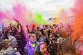Festiwal kolorów na placu Zebrań Ludowych