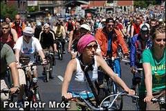 Wielki Przejazd Rowerowy i rodzinne zdjęcie rowerzystów, Gdańsk 2004