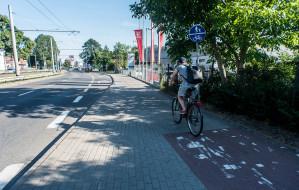 Rowerem wzdłuż al. Zwycięstwa w Gdyni