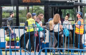 Zmiany w ruchu na czas festiwalu Open'er