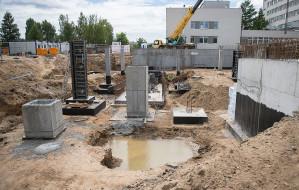 W szpitalu na Zaspie budują nowoczesny blok operacyjny