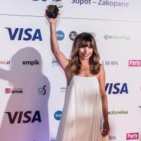 Agnieszka Dygant została laureatką Diamentowego Klapsa