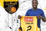 Vernon Taylor będzie zdobywał punkty dla Trefla Sopot