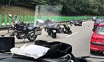 Motocyklista uderzył w auto na obwodnicy