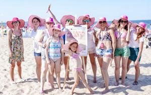 Na Różowej plaży pokazali, jak dbać o zdrowie