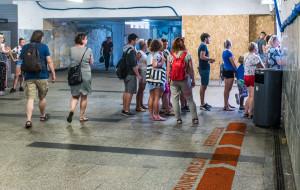 Pomysł czytelnika na kolejki przed biletomatami SKM