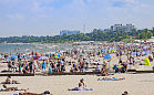 Lato na półmetku. Turyści w Trójmieście dopisali