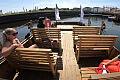 Repliki flisackich łodzi pływają po Motławie