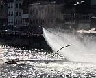Efektowne widowisko Water Show nad Motławą