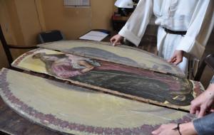 Barokowe dzieło odnalezione w dzwonnicy kościoła św. Mikołaja