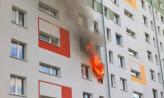Groźny pożar na Obłużu