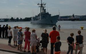 ORP Pułaski szykowany do służby w NATO