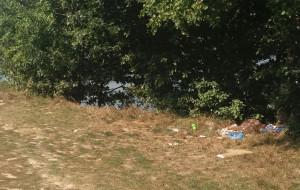Plażowicze i wędkarze śmieciarze