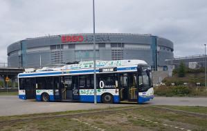 Do Ergo Areny dojedziemy też trolejbusem