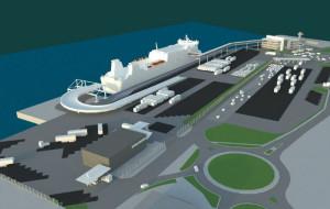 Port Gdynia szuka wykonawcy terminalu promowego