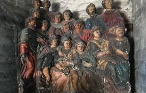 Unikatowa rzeźba wraca do wnętrza kościoła św. Mikołaja