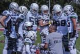 Białe Lwy - Jaguars. Futboliści grają o finał LFA9 dla chorego kolegi