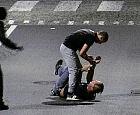 Uczestnicy bójki złapani dzięki kamerom