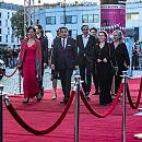Czerwony dywan festiwalu filmowego w Gdyni
