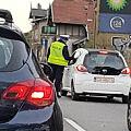 Kierowcy zaskoczeni poranną kontrolą trzeźwości na Grunwaldzkiej