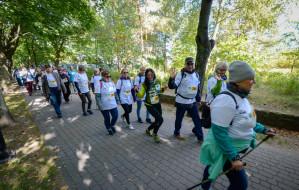 Ponad 1600 osób spacerowało po zdrowie