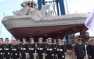 Pierwszy z holowników dla Marynarki Wojennej już na wodzie