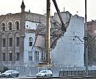 Rozbiórka kamienicy przy Podwalu Przedmiejskim