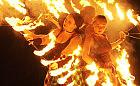Instalacje artystyczne zapłonęły na Zaspie