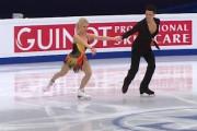 Gdańscy łyżwiarze figurowi Justyna Plutowska i Jeremie Flemin w Kanadzie