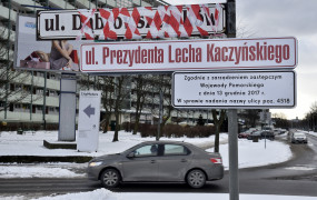Kaczyńskiego zamiast Dąbrowszczaków w Gdańsku
